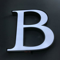 Venta Signos de negocios a prueba de agua personalizados logotipo al aire libre 3D led canal letra