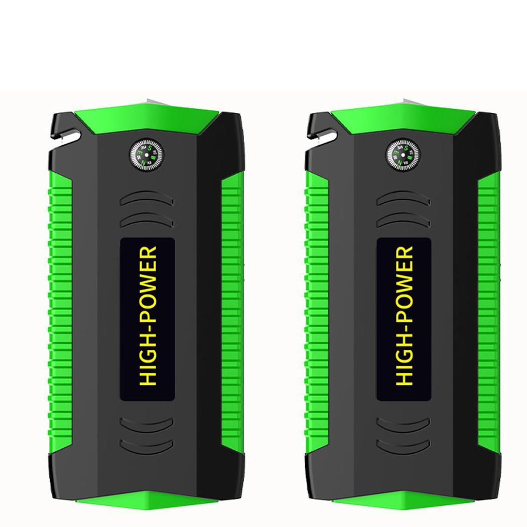 Batterie de voiture haute puissance multi-fonction voiture Jumper démarreur d'urgence 12 V chargeur de voiture pour Booster de batterie Auto démarrage dispositif LED