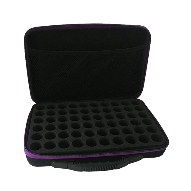 60-Bottle Essential Oils Storage Case Lightweight Durable Portable Essential Oil Case Pack Carrying Holder Organizer Travel Box 1