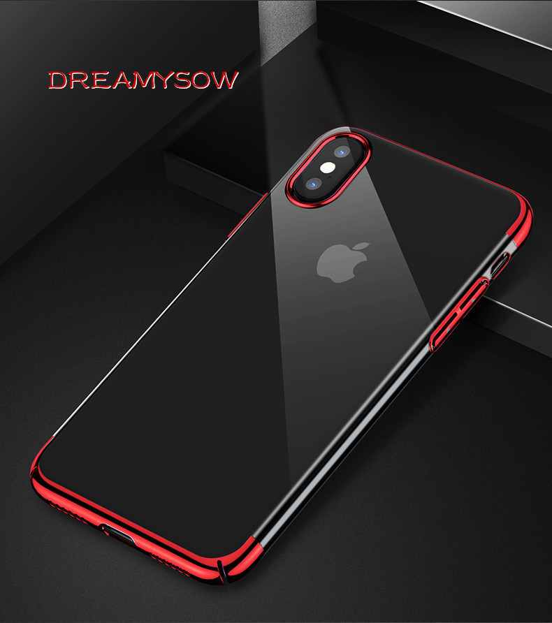 Clothes, Shoes & Accessories Uberay Silicon Clear Soft Case For Iphone X 10 Xs Max Xr Iphone 6s 6 S 6plus 6splus Iphone 7 8 7plus 8plus Phone Cover Casing