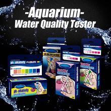 Высокое качество аквариумный Аквариум PH NO2 NO3 нитрит нитрат хлор качество воды тестер комплект аквариумный тестер качества воды