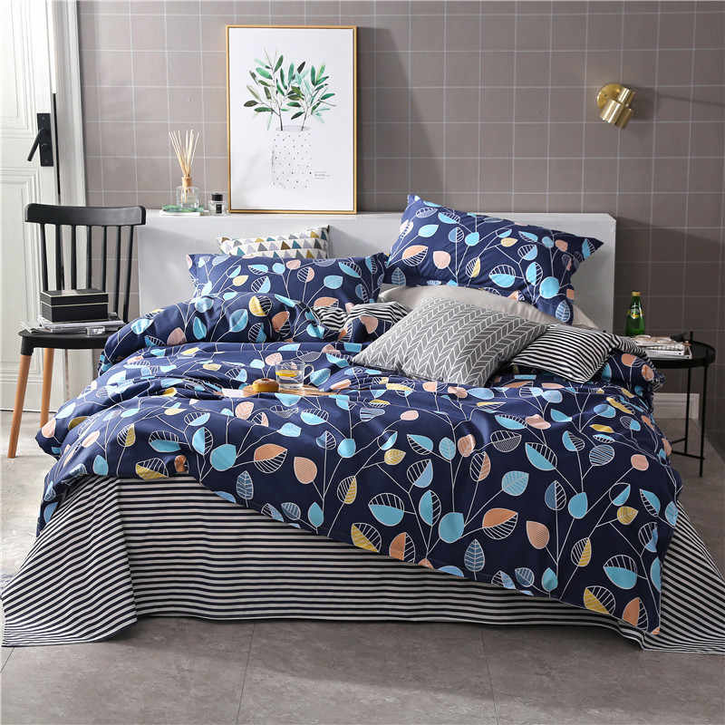1 PCS Duvet cover printing single double size quilt cover Skin Care Cotton Bedclothes 160x210cm/180x220cm/200x230cm Size