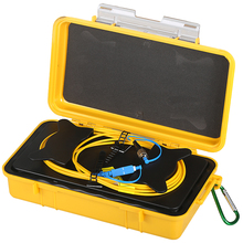 Free shipping SC/UPC FC/UPC OTDR Dead Zone Eliminator,Fiber Rings ,Fiber Optic OTDR Launch Cable Box 500m 1km 2km SM 1310/1550nm