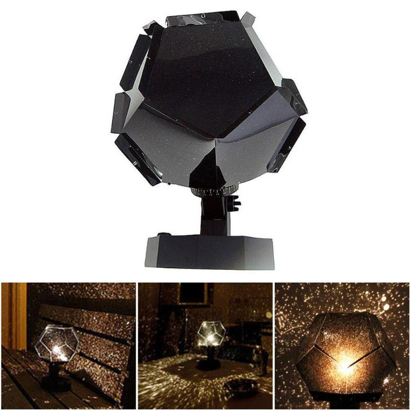 3 Colors Romantic Astro Star Sky Laser Projector Cosmos Night Light Lamp Making Things Convenient For Customers