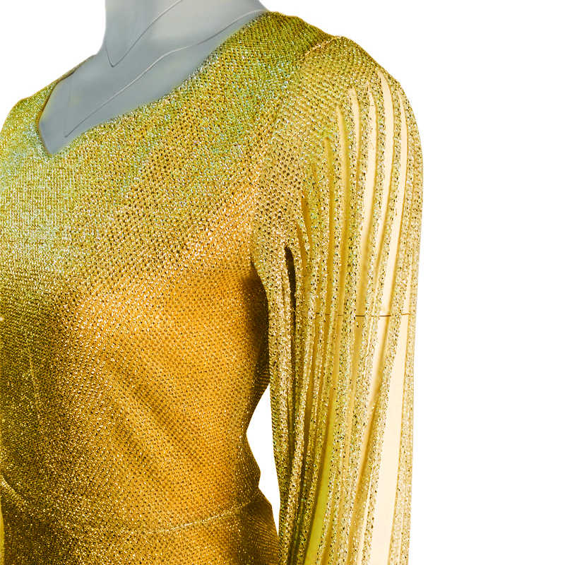 Женское платье Сексуальные Длинные рукава блузка V шеи Bodycon кисточкой элегантное платье
