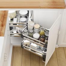 Mutfak Malzemeleri Keuken Drawer For Cestas Para Colgar En La Ducha Stainless Steel Organizer Cocina Kitchen Cabinet Basket