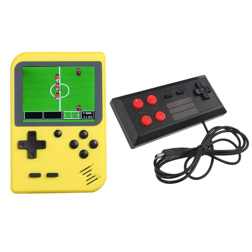 Videospielkonsolen Unterhaltungselektronik Retro 400 Klassische Spiele Spiel Konsole Handheld Spiel Maschine Wired Gamepad 3,0 Zoll Bildschirm Av Aus Spiel Konsole Geschenk Für Kinder Ausgereifte Technologien