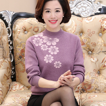 Autumn Winter Women Sweaters And Pullovers Casual Turtleneck Long Sleeve Knitted Sweater Loose Pull Femme Plus Size 4XL 2019 autumn winter women long sleeve 2 pieces knitted cardigan sweater casual floral print pull femme sweater plus size 4xl