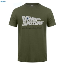 GILDAN  Newest Cowboys Dak Prescott Back to the Future T-shirt short sleeve o-neck T shirt
