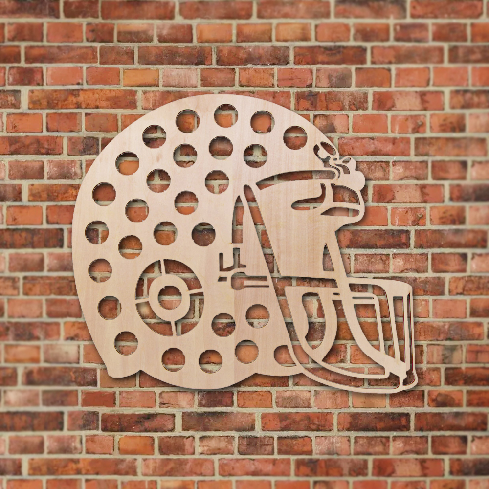 1Piece Novelty Beer Cap Creative Wall Mounted Wooden Map Football Helmet Beer Cap Map Design Beer Cap Holder