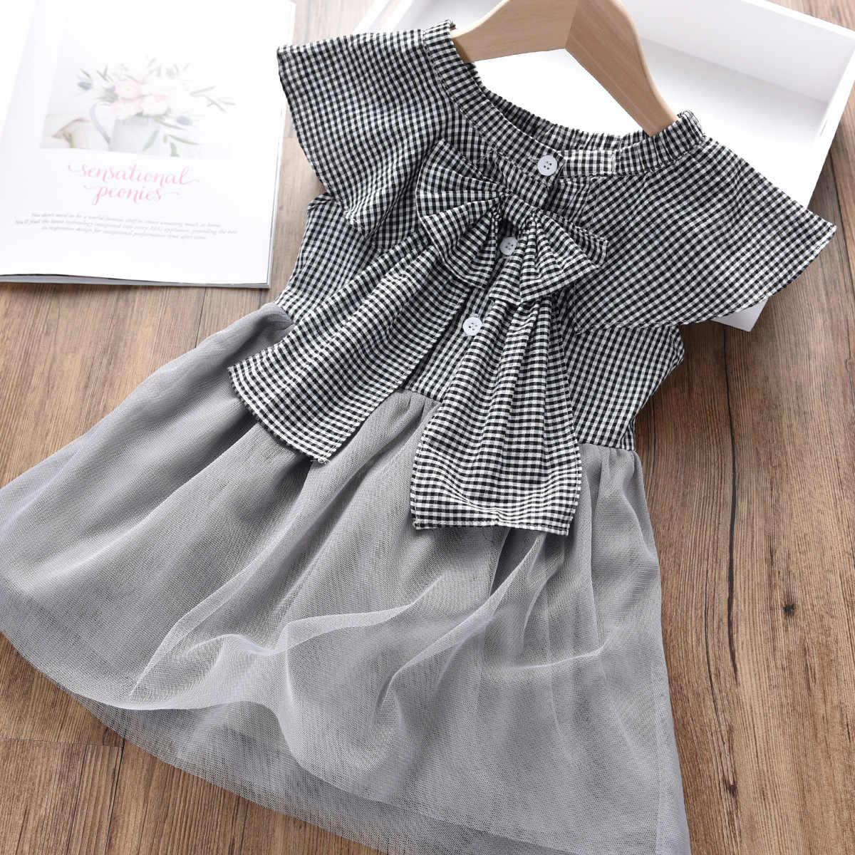 Платье-пачка для девочек платье из тюля для девочек Хлопковое платье летнее платье принцессы для девочек