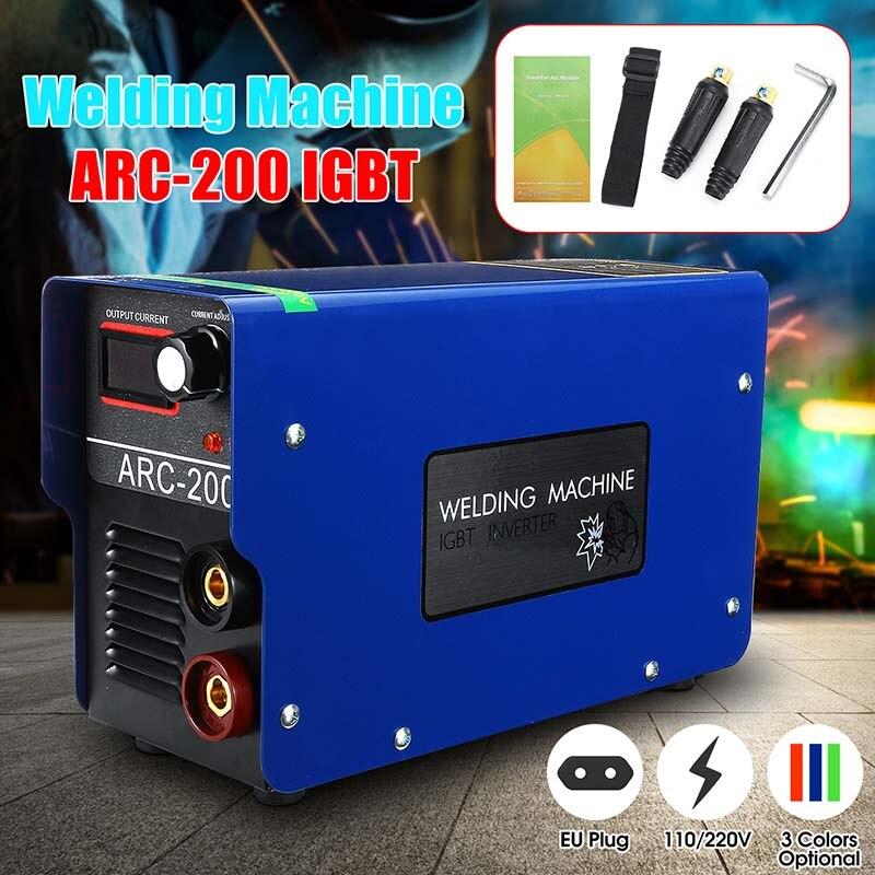 160 AMP ARC WELDER STICK INVERTER MACHINE MMA ELECTRODES WELDING 110V-60HZ IGBT