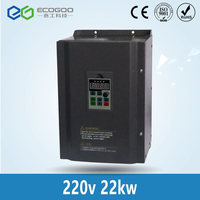 220V to 3 Phase 380V 22KW Inverter /45A Free Shipping Vector control 22KW Frequency drive/ Vfd 22KW/AC drive/VSD