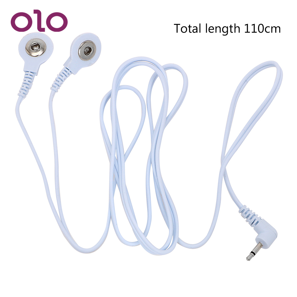 OLO Electro Stimulation 2 Head Buckle Line 1 Sex Toys Therapy Massager Accessories Electric Shock Wire Shock Conversion LineOLO Electro Stimulation 2 Head Buckle Line 1 Sex Toys Therapy Massager Accessories Electric Shock Wire Shock Conversion Line