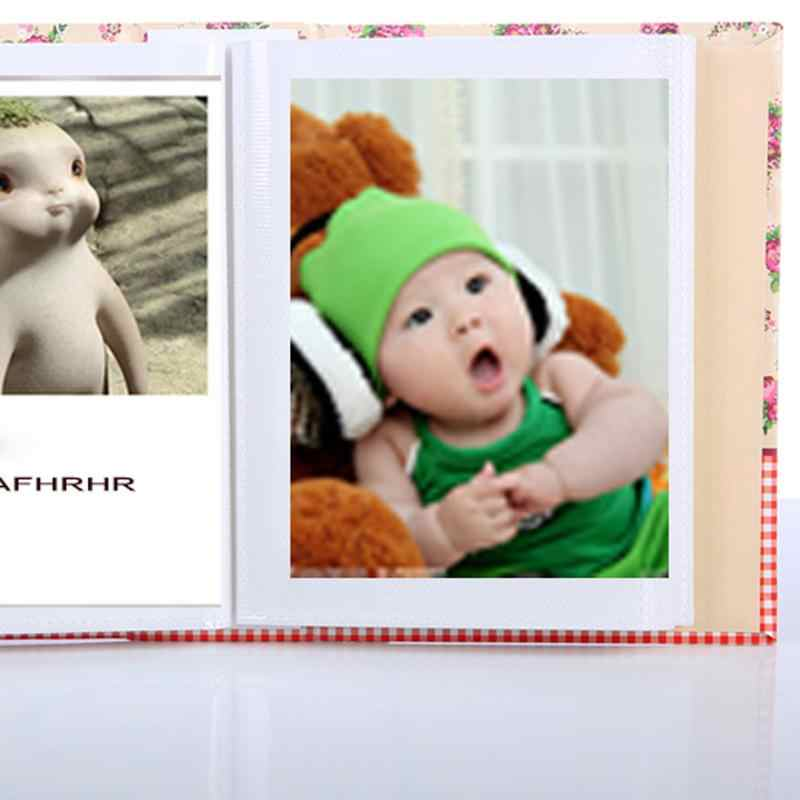 4R 100 pocket album colorful animal husbandry design storage home decoration children's gifts random color