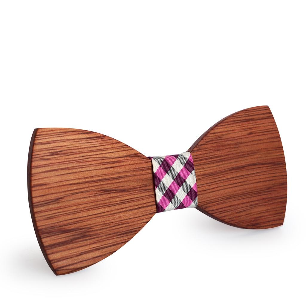 Simple Men's Suit Wooden Bow Tie For Groom Wedding Party Men Formal Wear Business Cravat Bow Tie Clothing Accessories