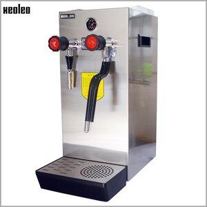 Image 3 - Xeoleo Commerical Melk Bubble Machine Kokend Water Machine Stoomboot Waterkoker Teapresso Machine Koffie Maker Melkschuim Maker