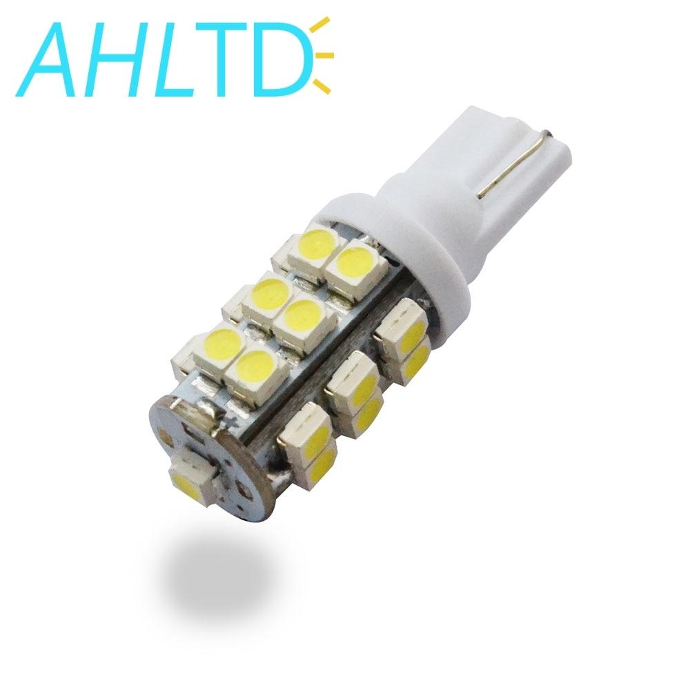 50PCS 6000K Xenon White T10 921 Interior//License Plate SMD Light Bulbs 5-LED