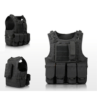 Eat chicken vest boy Multi function girl camouflage Hunting Military tactical CS equipment outdoor equipment