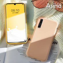 Original Official Style Silicone Case for Huawei P20 P30 Pro Cover Shockproof For Mate 20 lite P Smart Capas