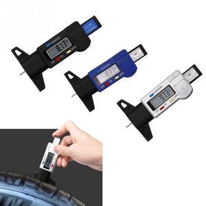 Image 5 - Digital Tire Tread Depth Gauge Meter Measurer LCD Display Tread  Tire Tester For Cars Trucks Range 0 25mm