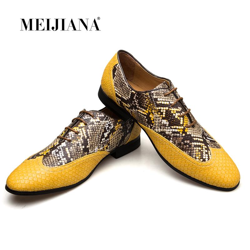 Da Sapatos Dourado Dos De Oxford Meijiana Homens Flats Casamento Ouro Mola Vestido CUa8xxqOw