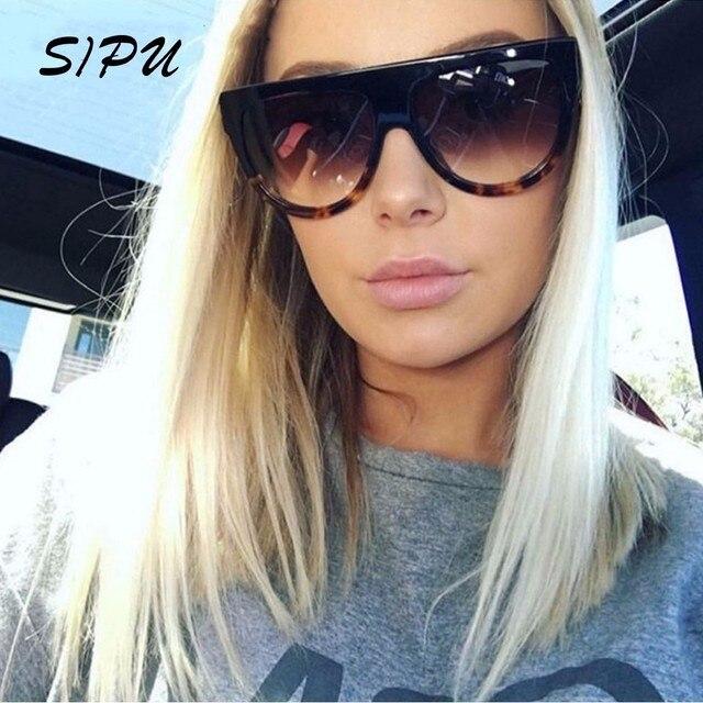 a4771f046a 2019 New Brand Designer Sunglasses Women Gradient Lens Sun Glasses Women  Full Frame Shades Ladies Glasses Unisex Oculos Male Men