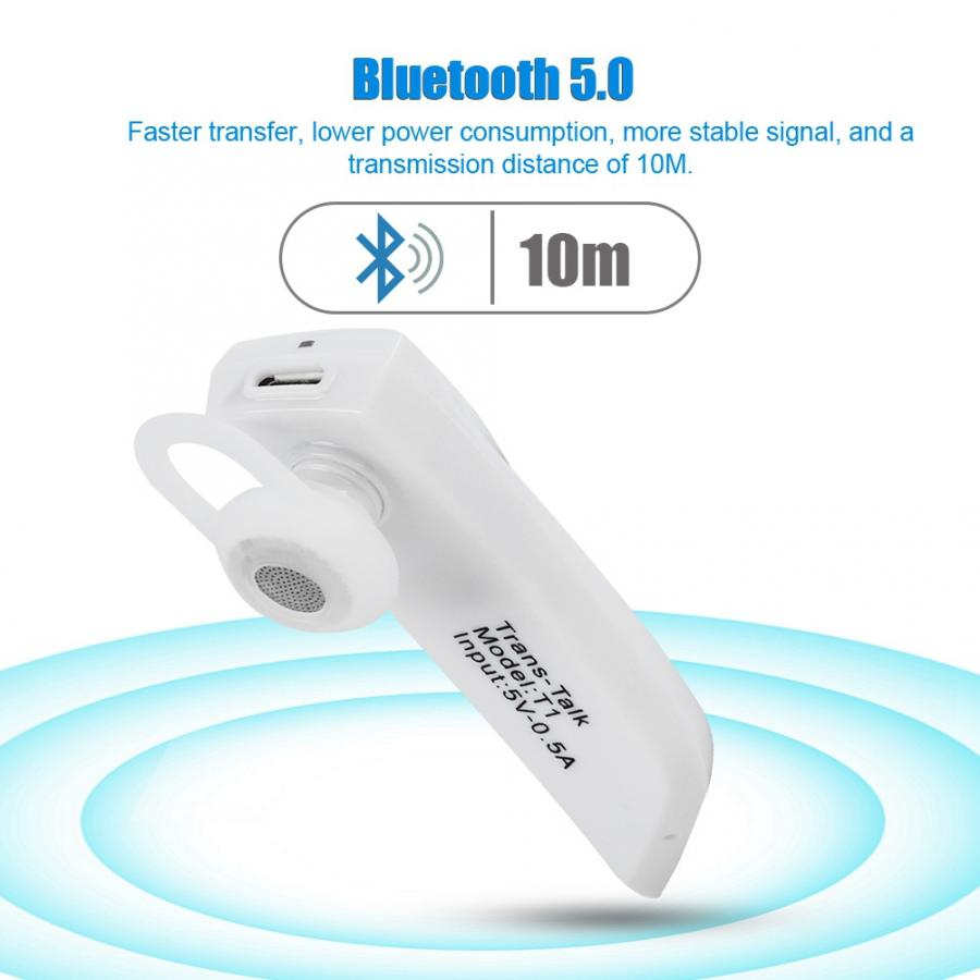 Bluetooth Wireless Translation Earphone Portable Real Time Simultaneous Translator With A2DP HFP Earphones Support 28 Languages