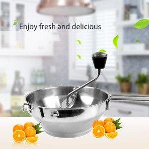 Image 2 - Roestvrij Staal Voedsel Molen 2 Quart Capaciteit 3 Frezen Discs