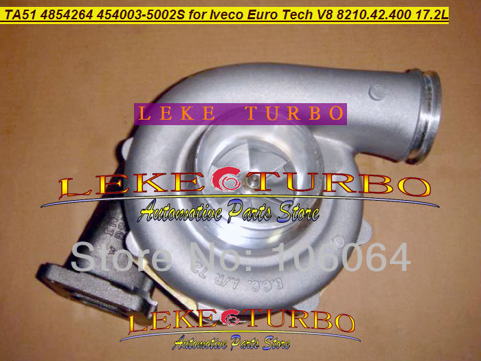 TA51 4854264 454003-0002 454003-5002S 454003 3530980 500373230 3530555 3590005 Turbo For IVECO Euro Tech V8 8210.42.400 17.2L