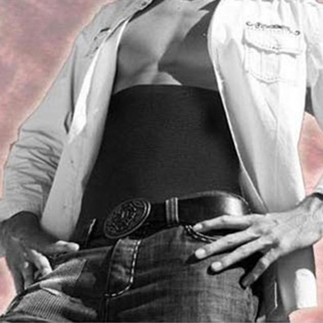 Body Shaper Men Slimming Waist Trimmer Belt Fat Slim Belt Tummy Cellulite Burner Tummy Control Stomach Girdle 2 Sizes 2