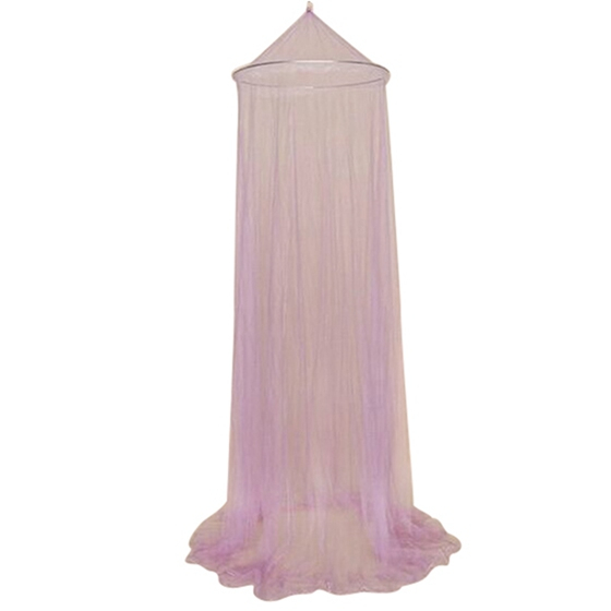 Promotion! Mosquito net mosquito net mosquito net canopy bed canopy for double beds insect net Purple