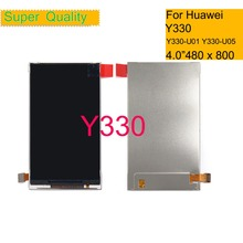 10Pcs/lot 4.0 For Huawei Ascend Y330 Y330-U01 Y330-U05 LCD Display Screen Pantalla Monitor HUAWEI Replacement