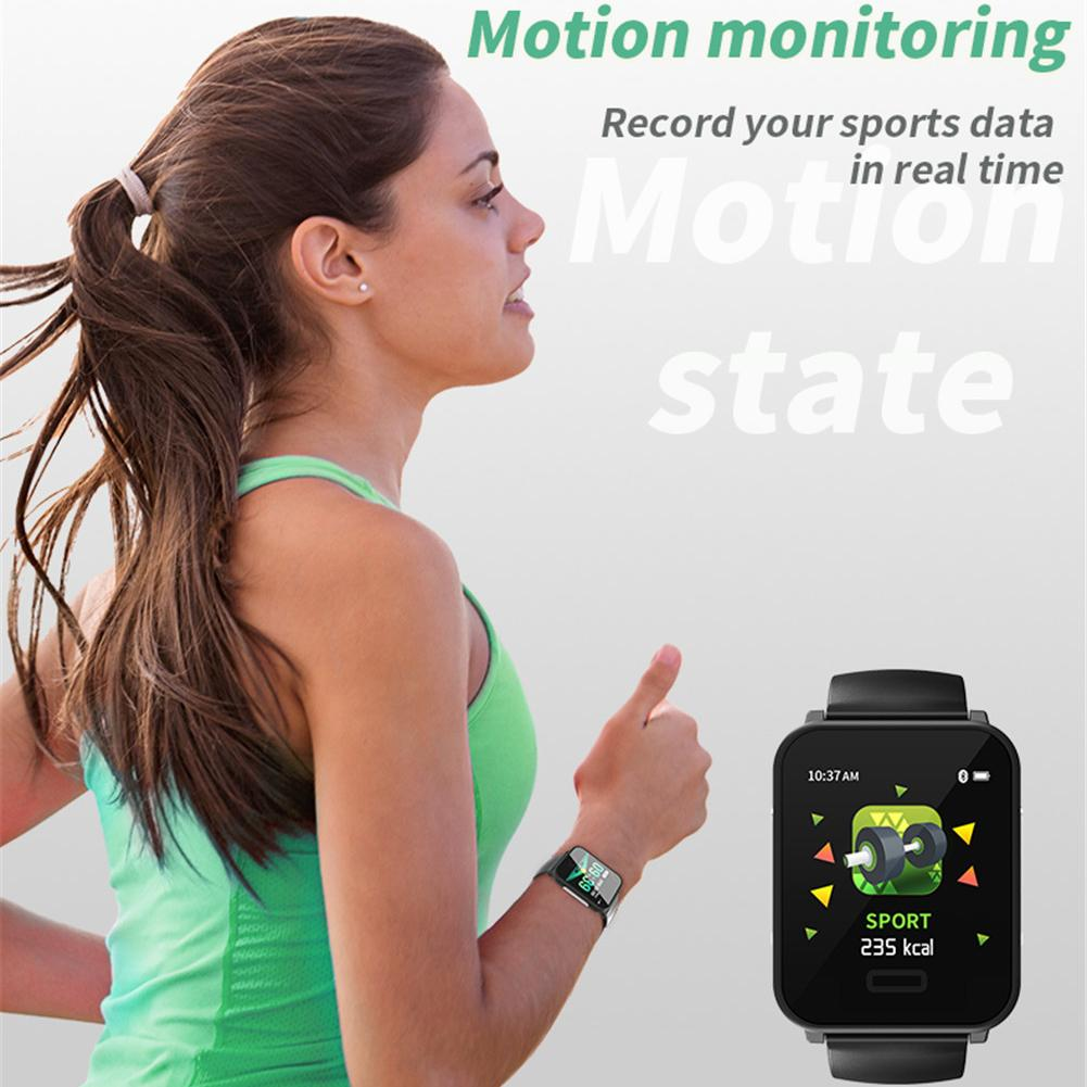 Image 3 - For E33 1.3 Inch ECG Fitness Bracelet Dual Heart Rate Monitoring Sports Tracker ECG PPG Sports Health Smart Watch New 2019-in Smart Wristbands from Consumer Electronics