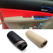 For Mazda 6 2006 2007 2008 4PCS Interior Microfiber Leather Door Panel Cover Protection Trim