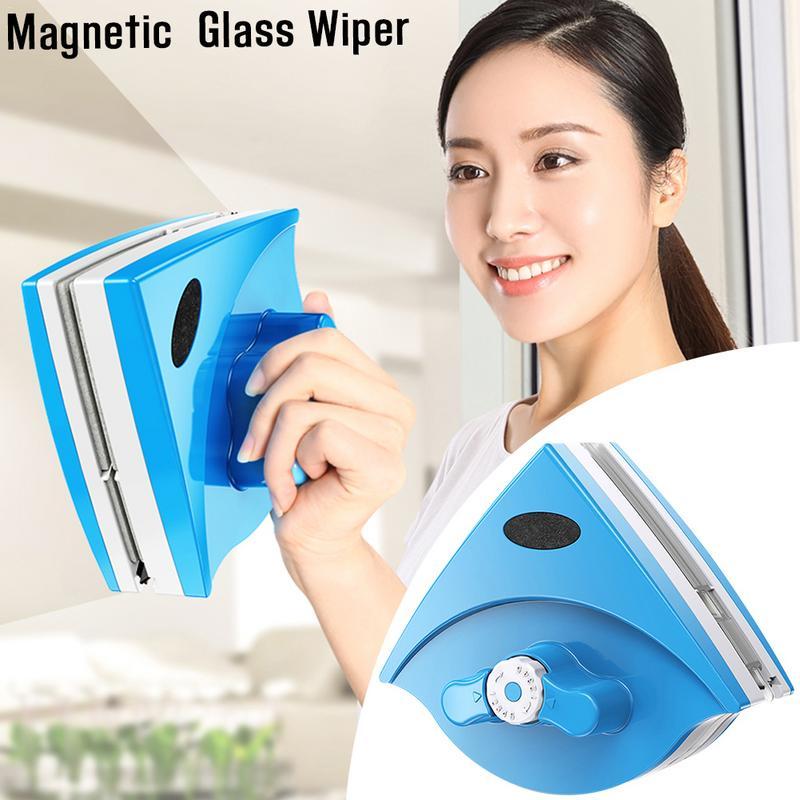 5 25 мм Очиститель Стекла Регулируемый магнитный стеклоочиститель чистящие инструменты двухсторонний Магнитный протирающий артефакт стекл