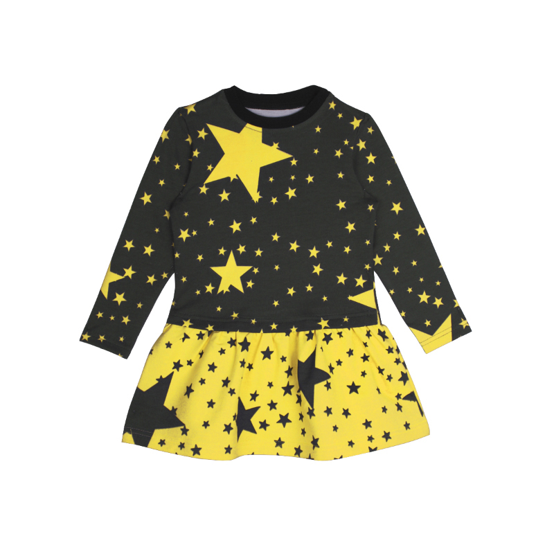 Dress for girls Kotmarkot 20037 foreign trade adicolo digital printing princess dress girls korean princess dress
