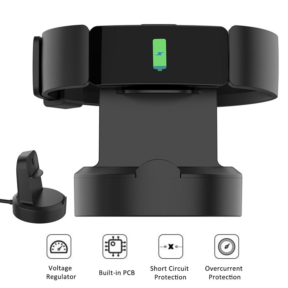 Image 2 - Universal Magnetic Charging Dock USB Charger Cable Cradle Dock For Fitbit Inspire HR / Inspire 51x46x13mm ABS+PC 2019 New-in Smart Accessories from Consumer Electronics