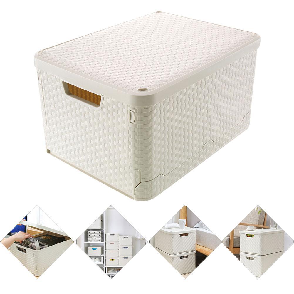 Складные пластиковые ящики для хранения, кубические контейнеры, органайзер для шкафа, хранение домашней одежды, коробка для одежды, для дом