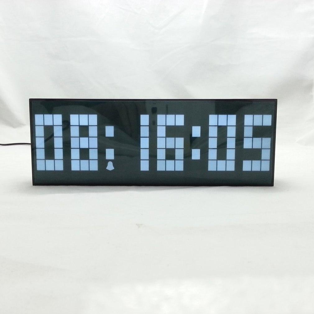 LED numérique Snooze horloge de Table réveils affichage multi-fonction fonction de contrôle affichage décoration de la maison horloge