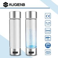 Activated Carbon Filter Rich ydrogen Water Bottle lonizer Selfcleaning USB Charging 4/10min Electrolysis Water Purifier Filter