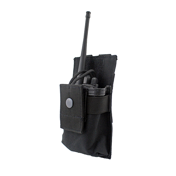 Tactical Radio Fall Halter Holster Walkie Talkie Holster Einstellbare Molle Pouch Open Top Magazin M4 Mag Pouch Tactical Vest