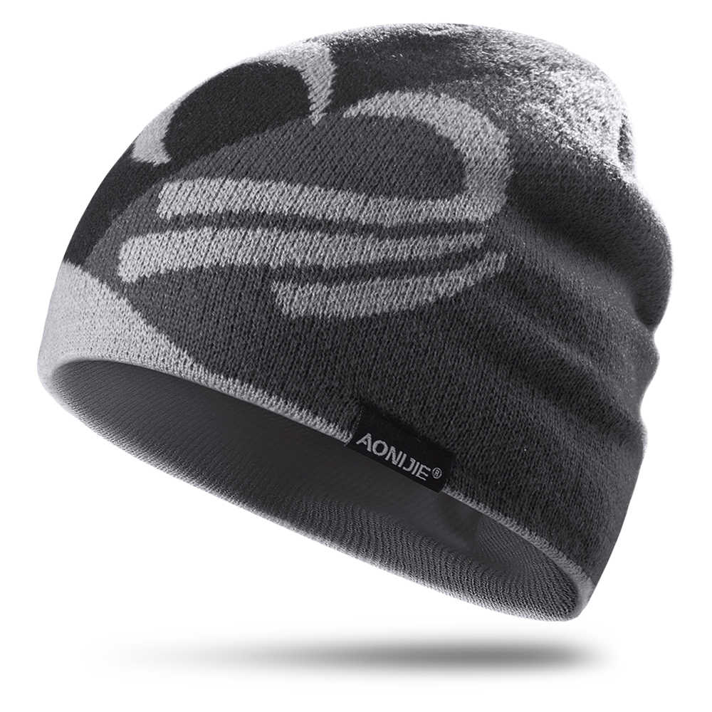c6385344f8c0c AONIJIE Breathable Men Women Knitted Sports Hat Windproof Running Beanie Hat  Outdoor Cycling Skull Cap Warm
