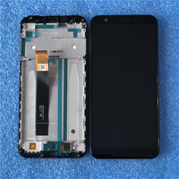 Axisinternational For 5.5 ASUS Zenfone Max M1 ZB555KL LCD Display Screen+Touch ScreenPanel Digitizer For ZB555KL LCD With Frame