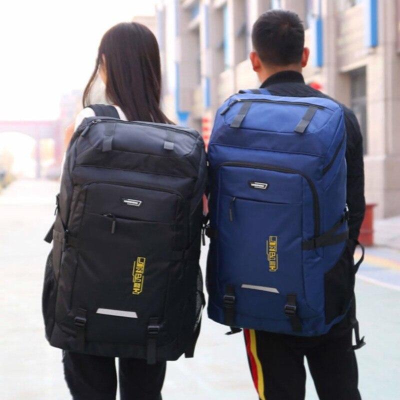 80L супер большой открытый рюкзак для мужчин Органайзер дорожные сумки вещевой большой вещевой мешок выходные Vs сумка для багажа Упаковка Кубики Bolsa De Viaje