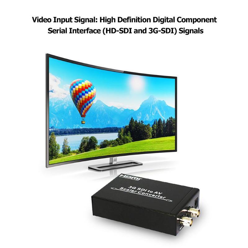 HDV-S007 HD-SDI 3G-SDI to Composite RCA Video Audio AV Converter ScalerHDV-S007 HD-SDI 3G-SDI to Composite RCA Video Audio AV Converter Scaler
