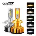 CARLitek 2Pcs Mini H7 Led Canbus H4 Auto Headlight Bulb H 11 Led H1 HB4 HB3 H3 Car Light 4300K 6000K 3000K 80W 12000LM Lamp