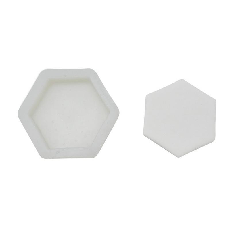 Hexagon Candle Mold Manuelle DIY Herstellung Von Kerzenwachs Harz Tonform