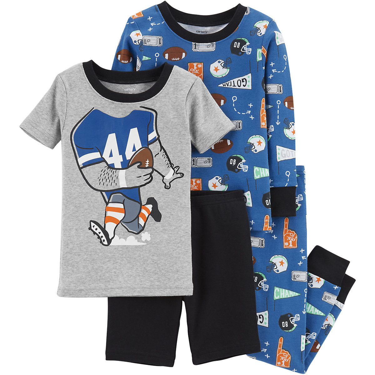 Carter's Pajama Sets 10267034 pajamas for girls baby clothes for sleeping girl new year family christmas pajamas costumes infant toddler baby girls christmas dress outfits girl party dress baby rompers