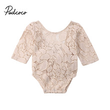 pudcoco 2019 Newborn Baby Girls Princess Clothes Ploral